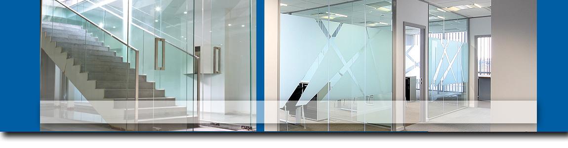 Compartimentari birouri cu pereti de sticla